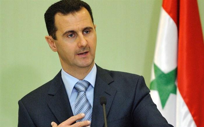 دیدار  اسد با رؤسای ستاد کل نیروهای مسلح ایران و عراق