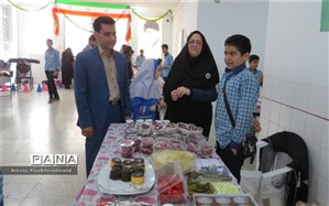 بازارچه کسب و کارهای دانش آموزی دبیرستان شهید دکتر رمضانخانی