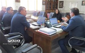 نشست برنامه ملی شهاب در اداره آموزش و پرورش ناحیه 2