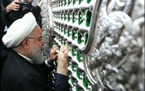روحانی مسجد کوفه را زیارت کرد + تصاویر