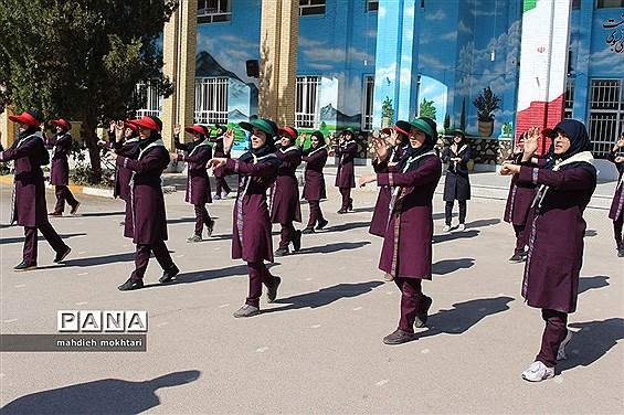 اردوی درون مدرسهای پیشتازان استان یزد