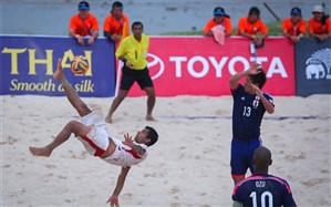 فوتبال ساحلی قهرمانی آسیا؛ قهرمانی و جام جهانی از دست ایران پرید