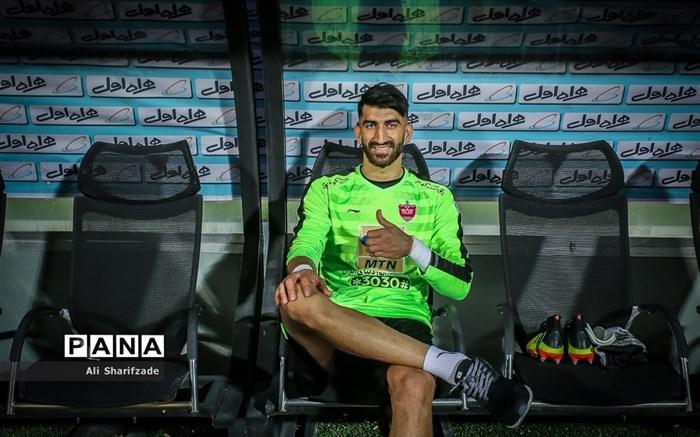 دیدار تیم های پرسپولیس و فولاد خوزستان