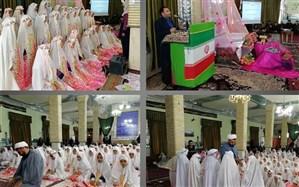 دانش آموزان دختر پایه سوم ابتدایی منطقه سجاسرود استان زنجان  تکلیف شدن خود را جشن گرفتند
