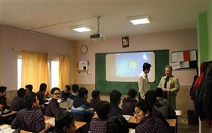 اجرای طرح اداره مدرسه توسط دانش آموزان در دبیرستان شهید دکتر فیاض بخش منطقه 3