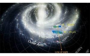 حل اسرار کیهانی با کمک نقشه ۳ بعدی نیروی میدان مغناطیسی کهکشان راه شیری + تصویر