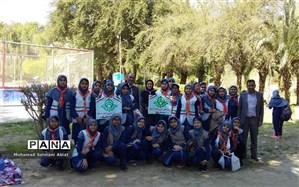 اردوی تشکیلاتی پیشتازان دبیرستان های وحدت و پاینده ناحیه یک اهواز