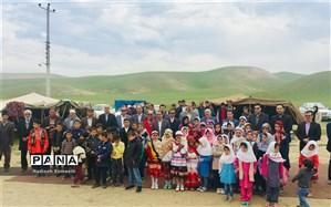 نمایشگاه هنرهای دستی دانشآموزان عشایر خراسان رضوی افتتاح شد