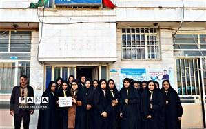 بازدید پیشتازان منطقه زبرخان از سازمان تامین اجتماعی