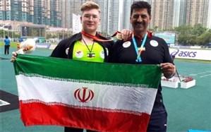 دوومیدانی قهرمانی نوجوانان آسیا؛ دومین طلای ایران به پرتاب وزنه رسید