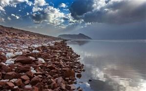 افزایش  23 سانتی متری تراز دریاچه ارومیه