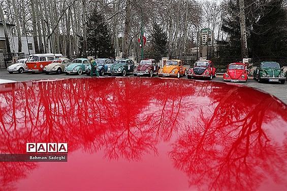 نمایش ماشینهای تاریخی در کاخ سعد آباد