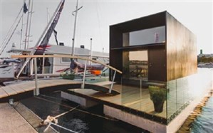 خانهای روی آب با یک سوم وزن خانههای عادی + تصویر