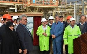 افتتاح طرح تولید واحد بودارکننده گاز طبیعی (مرکاپتان) و خط انتقال اتان از سایت دو به سایت یک پارس جنوبی