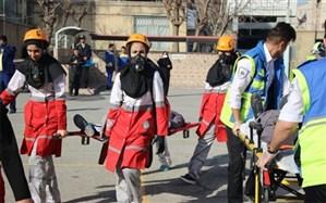 برگزاری  مانور استانی پیشگیری از حوادث آخرین چهارشنبه سال در شهریار