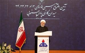 افتتاح رسمی فازهای ۱۳ و ۲۲، ۲۳، ۲۴ پارس جنوبی/پیشتازی ایران در بهرهبرداری از میادین مشترک گازی جنوب برای اولین بار
