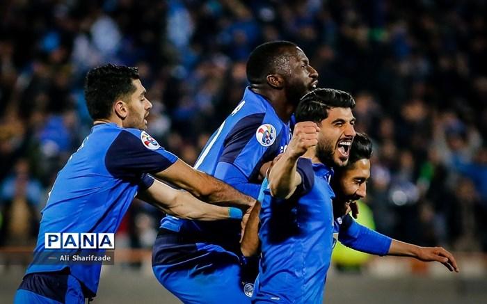 دیدار تیم های استقلال و العین امارات