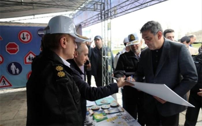 شهردار تهران به پویش «بخاطر کودکان با احتیاط برانیم» پیوست