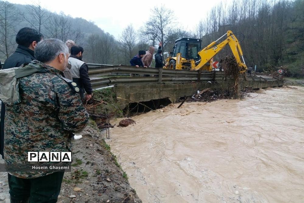 امدادرسانی به سیلزدگان شهرستان سوادکوه