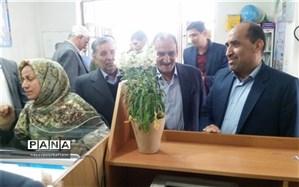 بازدید قائم مقام وزیر آموزش و پرورش در امور بینالملل از ستاد اسکان شهرستان نایین