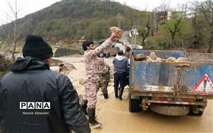 اسکان موقت بیش از ۸ هزار حادثه دیده سیل و برف در گلستان