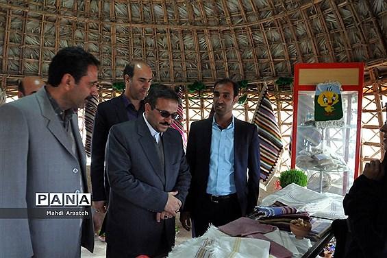 افتتاح کمپ عشایری گردشگری شهرستان خوسف