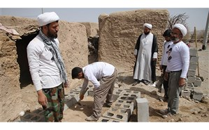 خدمت رسانی گروه جهادی طلبه -دانشجویی قم در مناطق محروم فارس و اصفهان