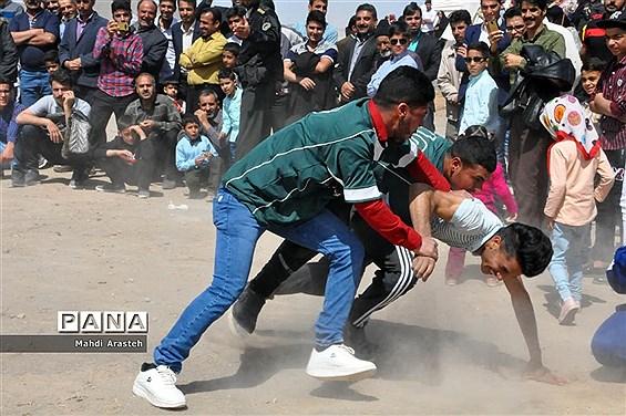 جشنواره بازیهای بومی و محلی روستای ماژان شهرستان خوسف