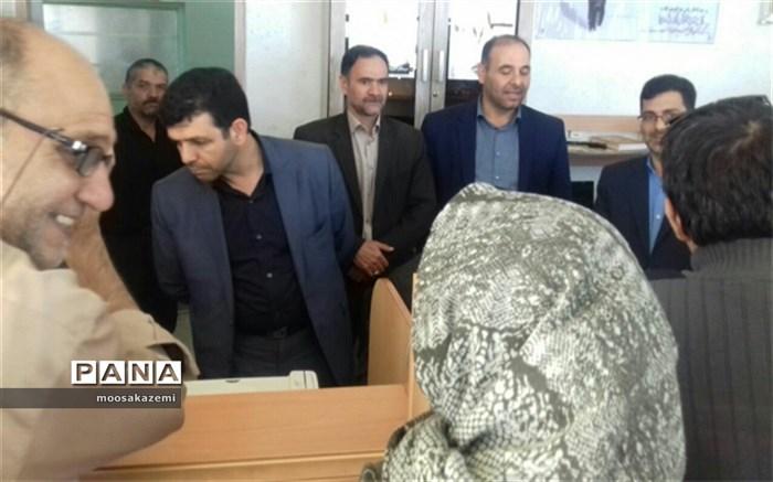 بازدید عباسعلی پوربافرانی از ستاد اسکان