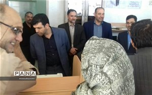 بازدید نماینده مردم شهرستان های نایین وخور و بیابانک در مجلس شورای اسلامی از ستاد اسکان شهرستان