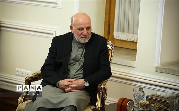 دیدار نماینده ویژه رئیس جمهوری افغانستان با ظریف
