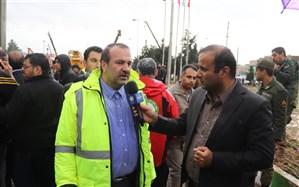 حادثه شیراز کنترل شده و امداد رسانی در حال انجام است