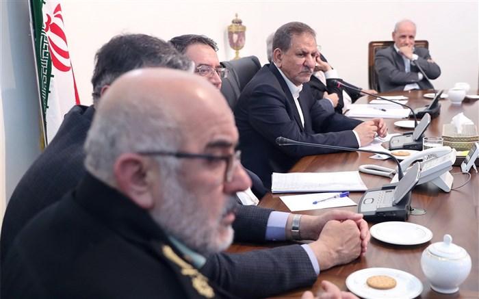 جهانگیری در جلسه ستاد مدیریت بحران کشور خبرداد: اعزام وزرا به استانهای در معرض سیل احتمالی
