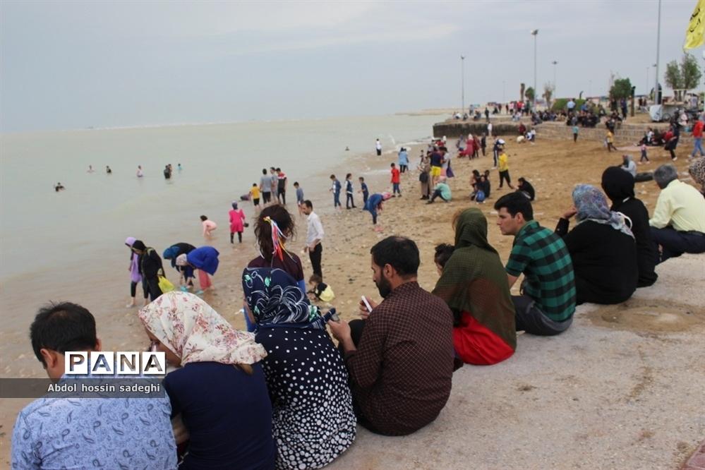 مسافران نوروزی بوشهر -۱