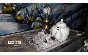 پذیرایی  از مهمانان نوروزی  با قهوه عربی