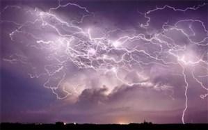 ۱۳ استان کشور در معرض خطر برخورد رعد و برق