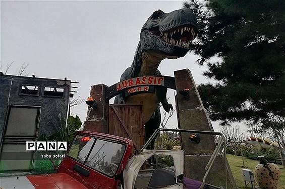 دیدنیهای پارک  ژوراسیک در تعطیلات نوروز
