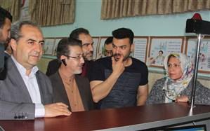 بازدید استاندار قم از مراکز اسکان  زائرین  در مدارس