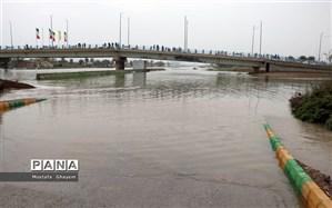 هشدار برای نور و چالوس: رودخانهها به مرز طغیان رسیدهاند