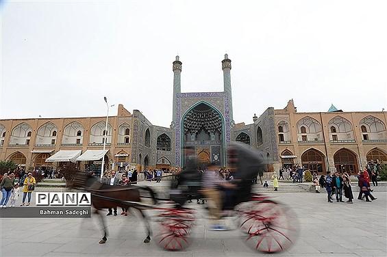 میدان نقش جهان اصفهان در نوروز 98