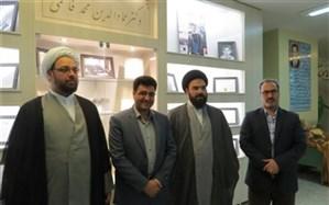 بازدید نماینده شهرستان اردستان در مجلس شورای اسلامی از ستاد اسکان  نوروزی  فرهنگیان