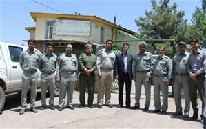 مانور مشترک حافظان زمین در شهرستان طالقان برگزار شد