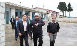 بازدید معاون وزیرآموزش و پرورش از مدارس سیلزده شهرستان سیمرغ مازندران