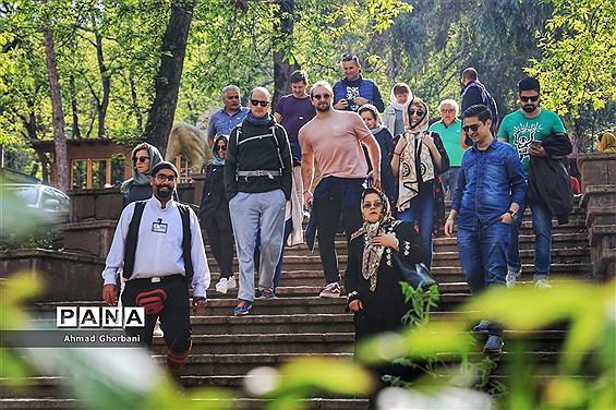 حضور گردشگران خارجی در تور نوروزی ساریگردی