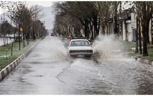 رگبار باران در 5 استان
