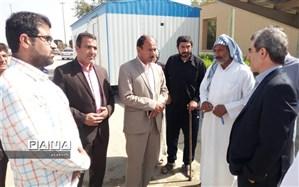 توزیع بیش از 9000 پرس غذا بین سیل زدگان دهستان دریسیه شادگان تا پایان روز پنجم اسکان سیل زدگان