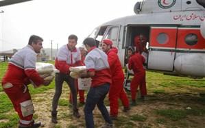 امدادرسانی به ۳۱۰۰ نفر در مناطق آسیب دیده از آب گرفتگی در استانهای جنوبی