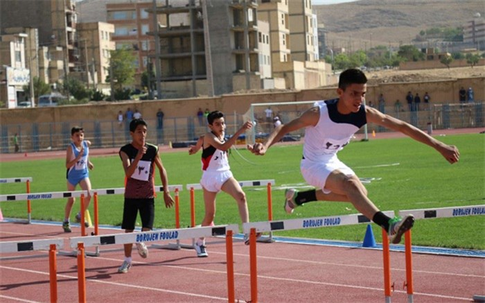 برگزاری اردوی تیم ملی دو و میدانی دانش آموزان در شهرکرد