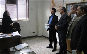 دیدار نوروزی مدیر آموزش و پرورش ناحیه دو شهر ری  با کارکنان اداری