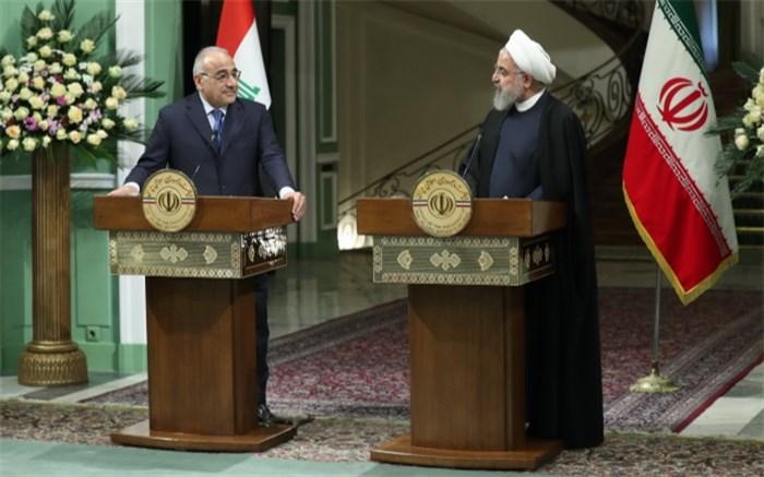 روحانی و نخست وزیر عراق